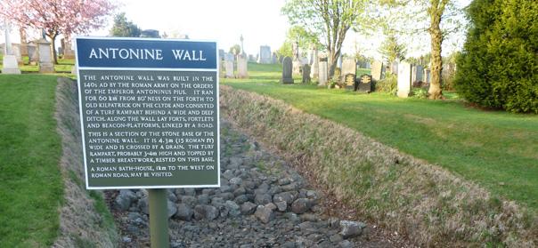The Antonine Wall Bearsden Amp Milngavie Local Directory Bear The Gree
